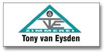Zimmerei Tony van Eysden